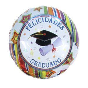 Globo Felicidades Por Tu Grado