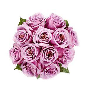 Bouquet de 12 Rosas Moradas
