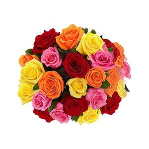 Bouquet de 24 Rosas Impresionista