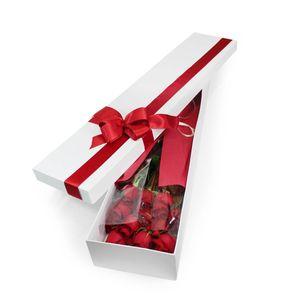 Caja 12 Rosas Rojas