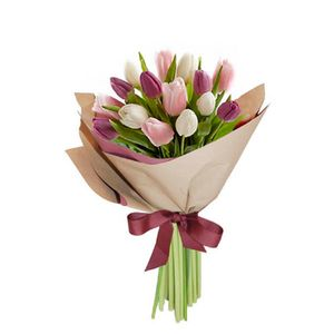 Bouquet 15 Tulipanes Chic