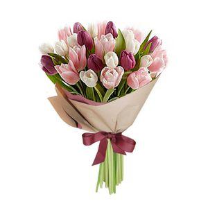 Bouquet 25 Tulipanes Chic